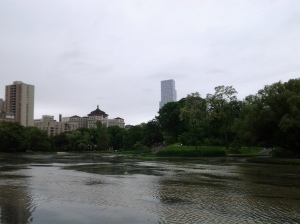 Harlem Meer on the day I fished with The New York Observer. (photo taken 05 24 2013)