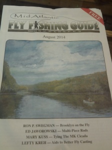 Mid Atlantic Fly Fishing Guide (August 2014)