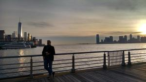 Hudson River Sunset 11 2014 (photo by Maryann Amici)