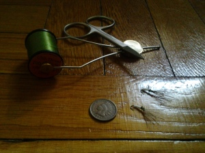 All the Tools Most Necessary: Tenkara Still Life (photo taken 03 02 2015)
