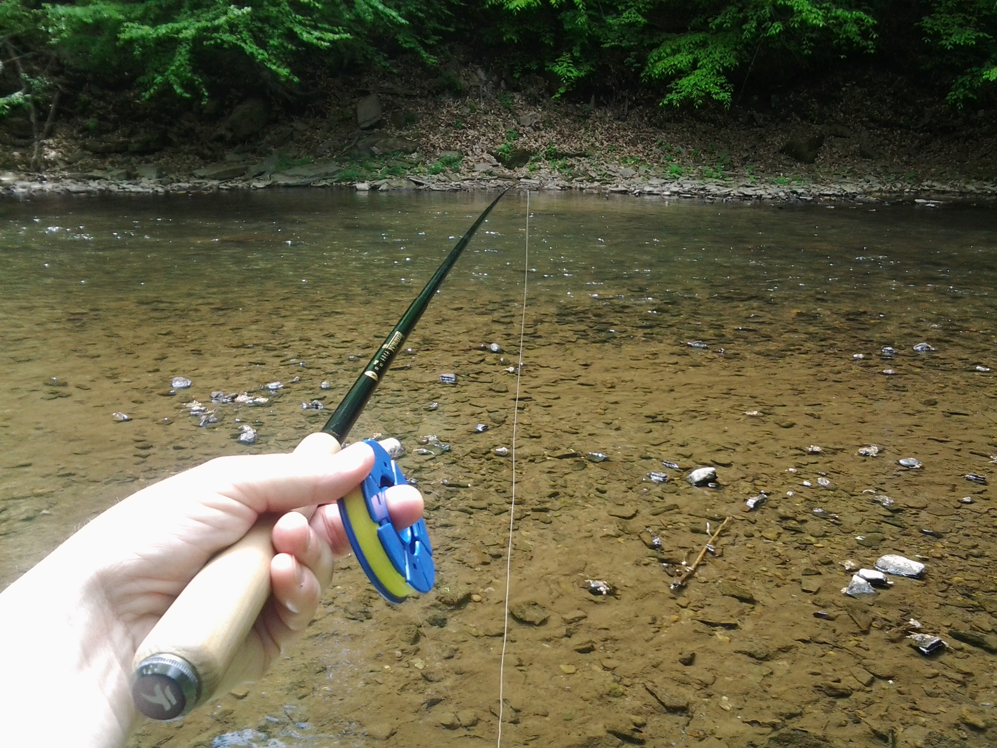 Tenkara gear tenkara takes manhattan for Fishing line holder